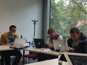 Formatentwicklung und Recherche in der Media Camp Redaktion